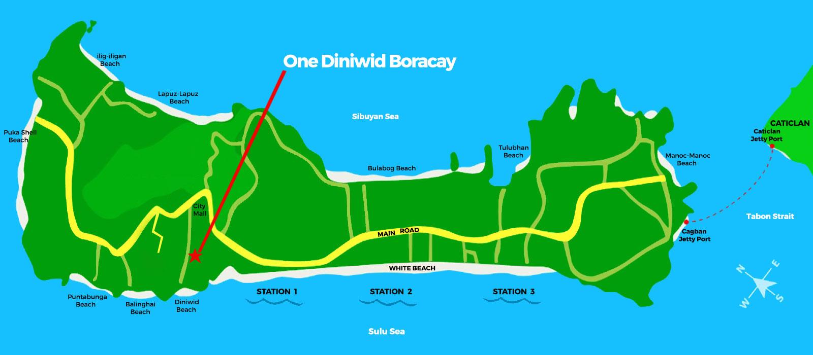 One Diniwid Boracay